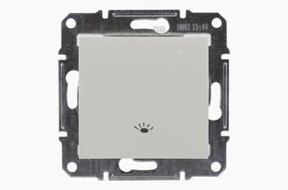Sedna Przycisk /światło/ kremowy SDN0900123