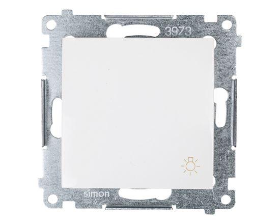 Simon 54 Przycisk /światło/ biały DS1.01/11