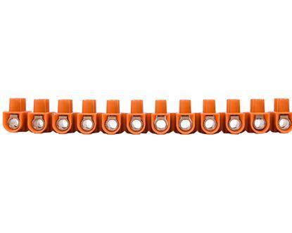 Listwa zaciskowa gwintowa 12-torowa 25mm2 pomarańczowa LTF 12-25 21712008