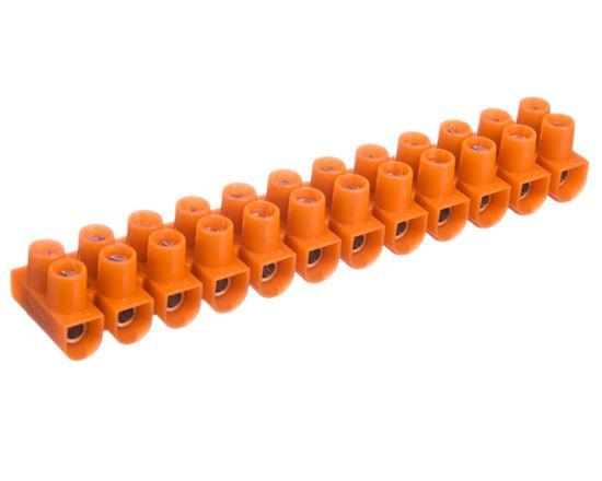Listwa zaciskowa 1-2,5mm2 12-torowa pomarańczowa LTF12-2.5 21210008