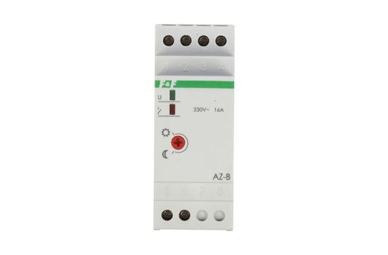 Automat zmierzchowy 16A 230V 2-1000lx DIN AZ-B