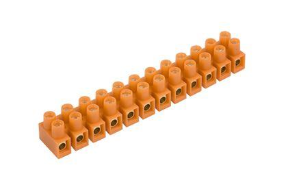 Listwa zaciskowa gwintowa 12-torowa 10mm2 pomarańczowa LTF 12-10.0 21512108