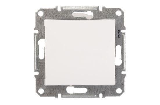 Sedna Łącznik jednobiegunowy 10AX biały IP44 SDN0100321