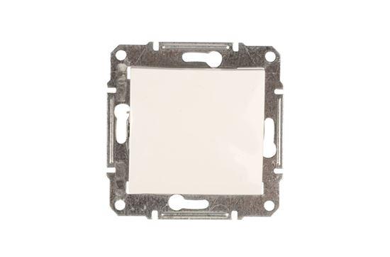 Sedna Łącznik jednobiegunowy 10AX kremowy IP44 SDN0100323