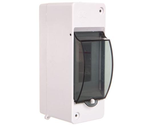 Rozdzielnica modułowa 1x2 natynkowa IP20 EP-nt 1/2 MINI S-2 EP-LUX z pokrywą dymną 2302-01