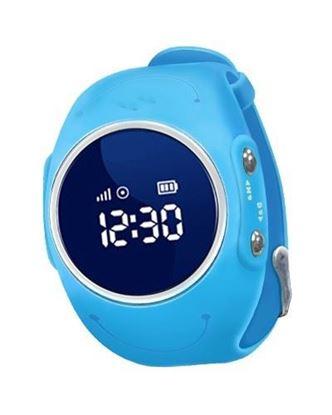 Locon Wodoodporny Zegarek GPS dla dzieci GJD.03 Niebieski