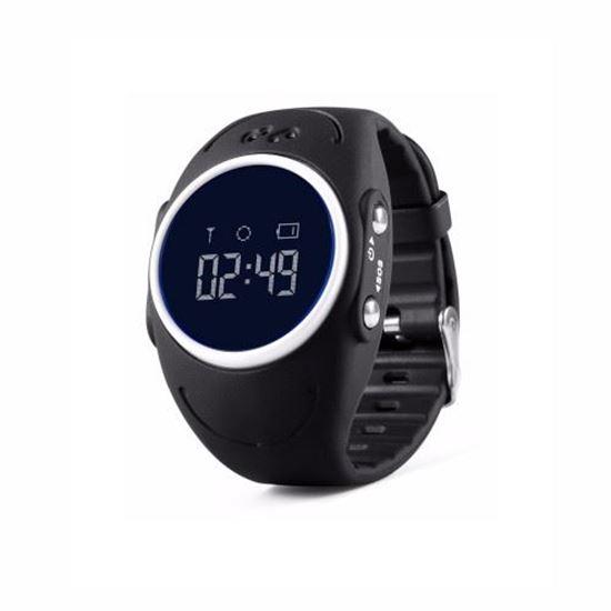 Locon Wodoodporny Zegarek GPS dla dzieci GJD.03 Czarny
