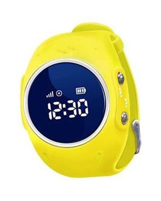Locon Wodoodporny Zegarek GPS dla dzieci GJD.03 Żółty