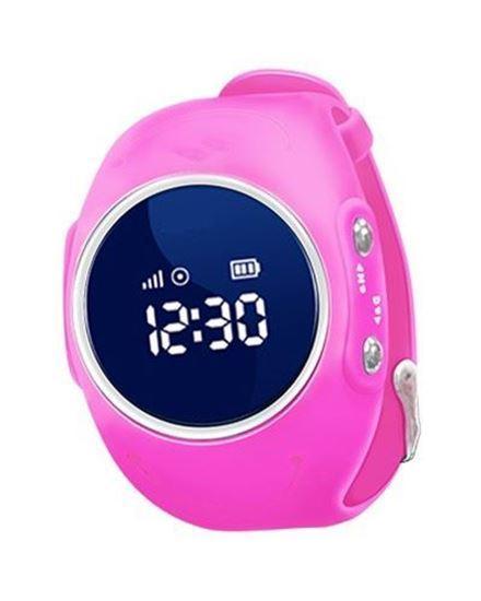 Locon Wodoodporny Zegarek GPS dla dzieci GJD.03 Różowy