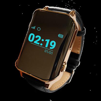 Locon Zegarek GPS Bezpieczna Rodzina dla seniora z pulsometrem BS.01 Czarny