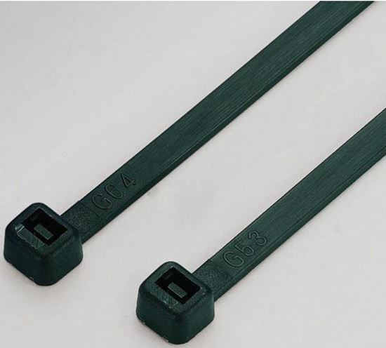 Opaska kablowa 3,6 mm 250 mm 3,6x250 czarna UV ITA036250B /100szt./