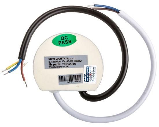 Zasilacz LED dopuszkowy 12V DC 10W 0,8A IP67 OR-ZL-1618