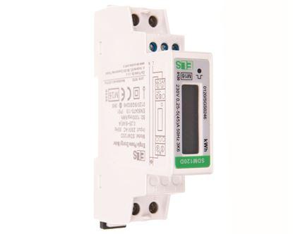 Licznik energii elektrycznej LCD 1-fazowy 45A 230V SDM120D MID