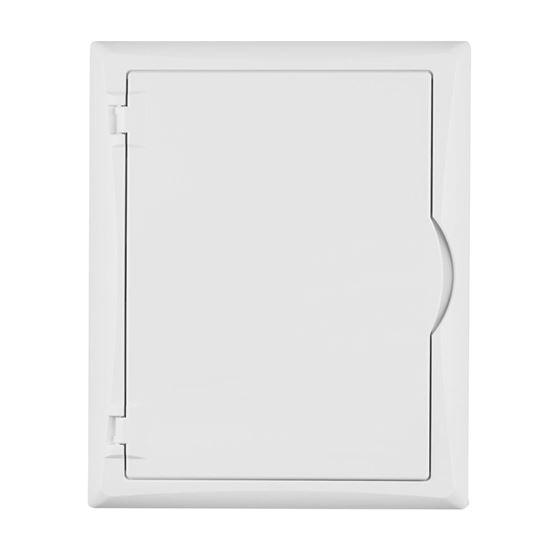 Rozdzielnica modułowa 2x12 n/t ECONOMIC BOX RN 2/24 MULTIMEDIALNA drzwi białe (N+PE) IP40 2505-20