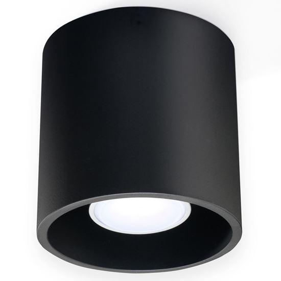 Lampa Plafon ORBIS 1 Czarny