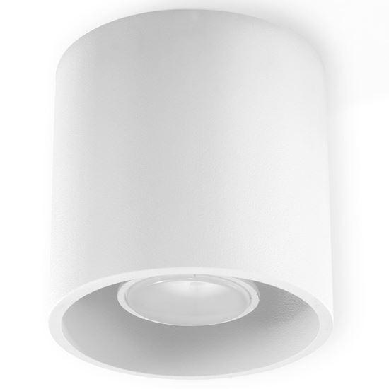 Lampa Plafon ORBIS 1 Biały