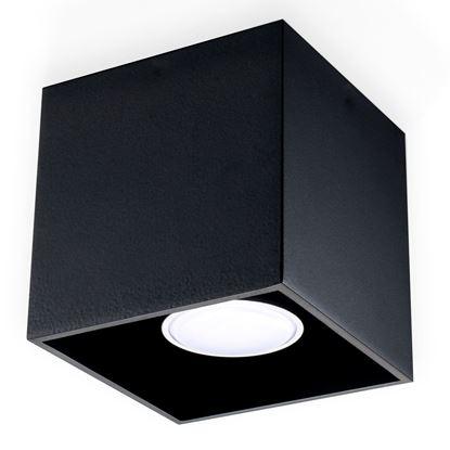 Lampa Plafon QUAD 1 Czarny