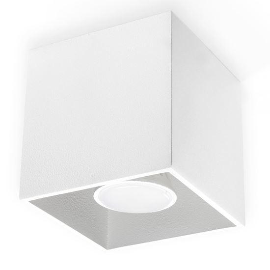 Lampa Plafon QUAD 1 Biały
