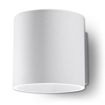 Lampa Kinkiet ORBIS 1 Biały