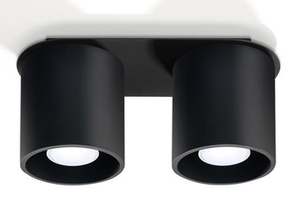 Lampa Plafon ORBIS 2 Czarny