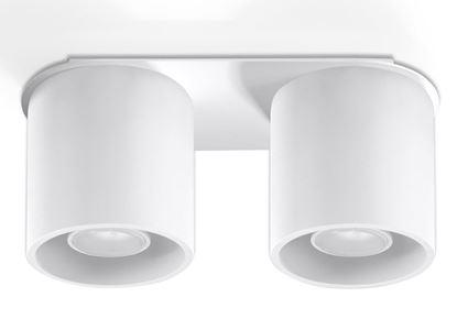 Lampa Plafon ORBIS 2 Biały