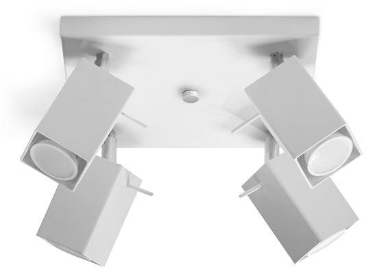 Plafon MERIDA 4 Biały