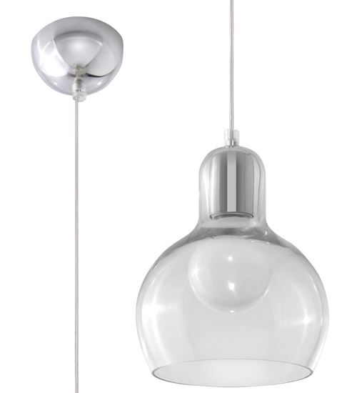 Lampa Wisząca CARLA Transparentny