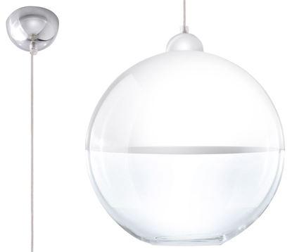 Lampa Wisząca GINO Biała