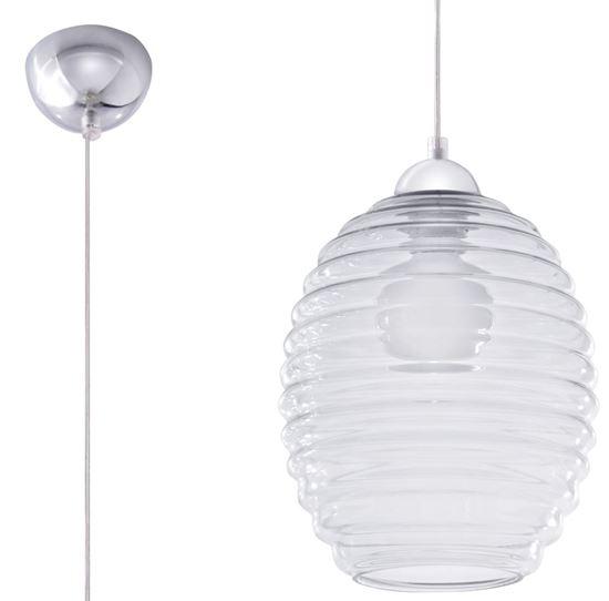 Lampa Wisząca ALVARO Transparentny
