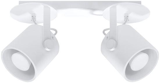 Plafon LAROSA 2 Biały