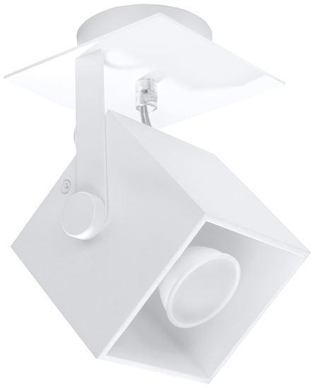 Plafon CEDRA 1 Biały