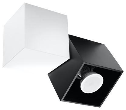 Plafon OPTIK NERO 2 Biały/Czarny