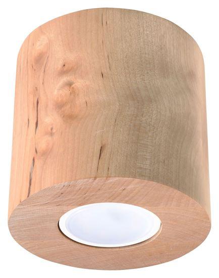 Plafon ORBIS  Naturalne Drewno