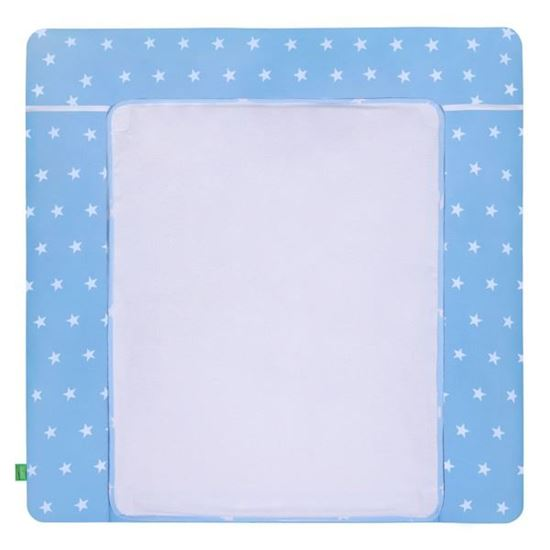 Lulando Mata na przewijak, Gwiazdki Białe na Niebieskim Tle, 75x80 cm