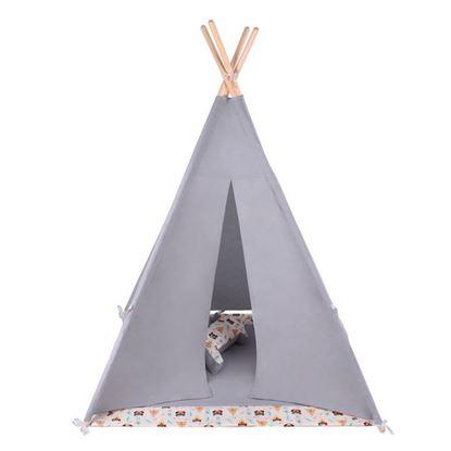 LULANDO TIPI namiot do zabawy dla dzieci, Indiańskie Misie
