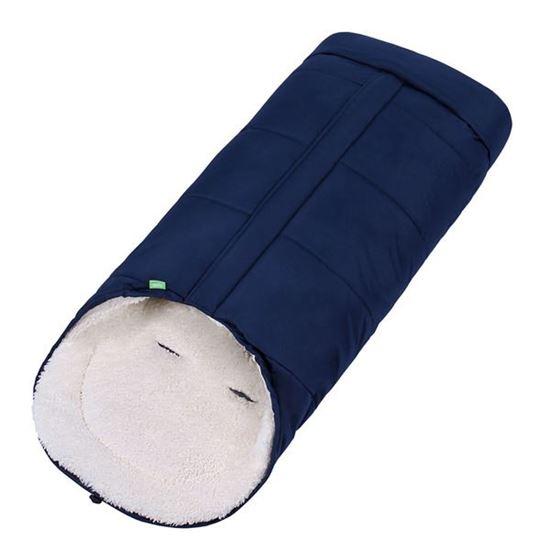 Lulando Wodoodporny zimowy śpiwór do wózka dla dzieci, Ciemnoniebieski
