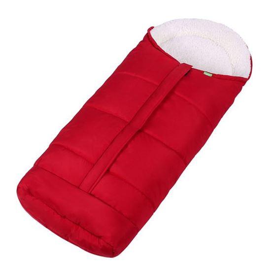 Lulando Wodoodporny zimowy śpiwór do wózka dla dzieci, Czerwony