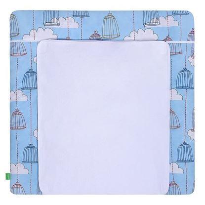 Lulando Mata na przewijak, Klatki Niebieskie, 75x75 cm