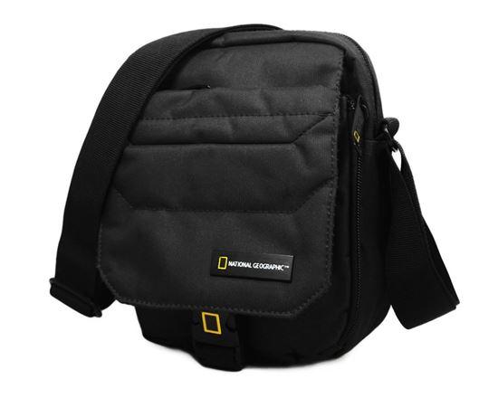 Torba na ramię z klapą National Geographic PRO 703 Czarny