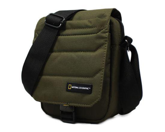 Torba na ramię z klapą National Geographic PRO 705 Khaki
