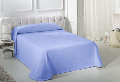 Narzuta COMPAS niebieska