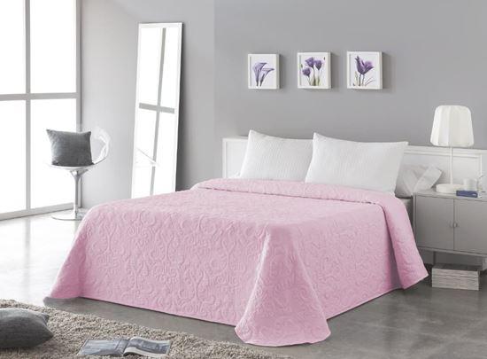 Narzuta  OPERA ornament różowa