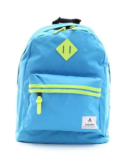 Plecak SKECHERS Neonsplash niebieski