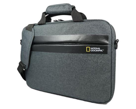 Teczka na laptopa National Geographic STREAM 13106 Antracyt
