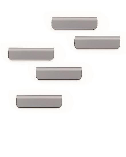 DURAFIX® CLIP 60 mm, kpl 5 szt. srebrny