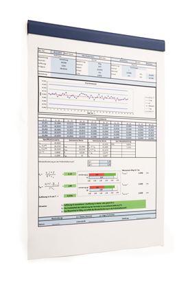 DURAFIX® RAIL 210 mm, kpl 5 szt. niebieski