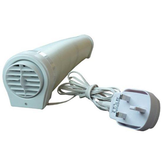EcoSavers Radiator Booster - wentylator grzejnikowy do przemieszczania strumienia ciepłego powietrza