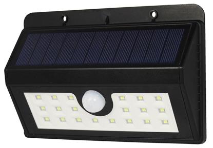 POWERplus Boa - solarna lampa 20 LED z czujnikiem ruchu do domu i ogrodu