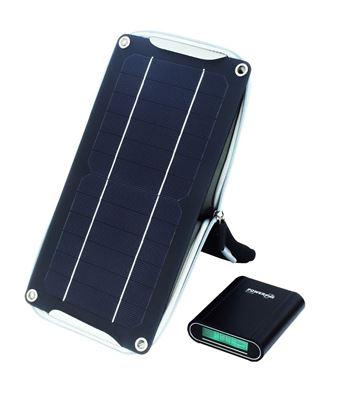 POWERplus Crocodile - wydajna ładowarka solarna 5W z powerbankiem 10400 mAh