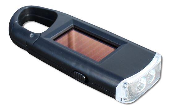 POWERplus Viper - latarka LED zasilana ogniwem słonecznym